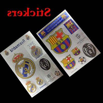 barcelona real madrid soccer fans decal