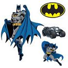 Batman DIY Pre-Cut Wall Decal Pack of 9 Stickers for Kids Ro