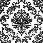 Black + White Peel + Stick Wallpaper Scrub Washable Kirchen
