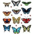 12 Pcs  Butterfly Decals 3D Wall Stickers for Home Decor, wi