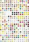 Wholesale 330pcs Cartoon Home Button Sticker For Apple iPhon