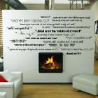 Classic Movie Quotes wall saying vinyl lettering home decor
