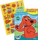Clifford the Big Red Dog Giant Coloring Book with Stickers 1