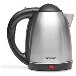 Cordless Electric Kettle - 1.7 Liter Stainless Steel Electro