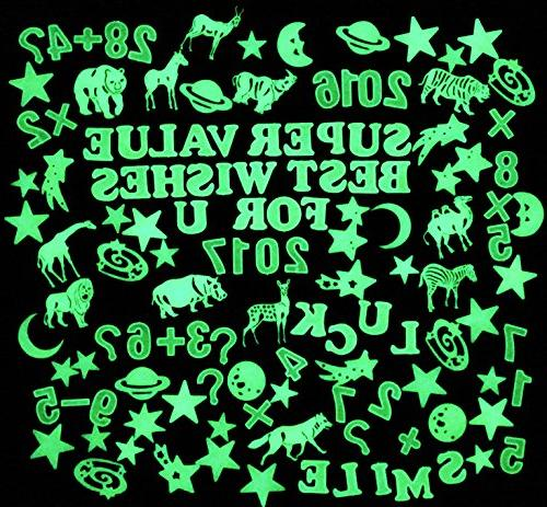 creative glow dark 3d assorted
