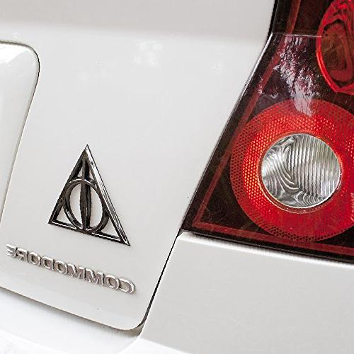 Fan Deathly Hallows 3D Black Chrome, Harry Potter to to Cars, Windows,