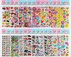 different sheets toddlers puffy stickers