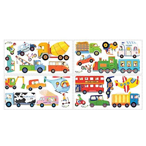 DECOWALL Kids Stickers Peel Removable Stickers for Kids Room