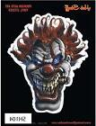 EVIL CLOWN VINYL AUTO STICKER - brand new