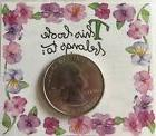 """FLORAL BOOK PLATE Stickers2.5""""x 4.5""""Susan Branch•Pansy•T"""