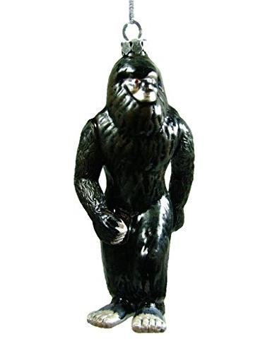 glass black bigfoot sasquatch ape