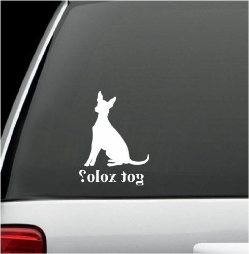 got xolo white decal sticker