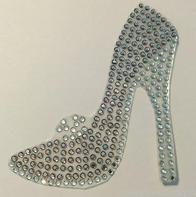 Heels Heel Shopping Love AME Bling Car Decal 50-12