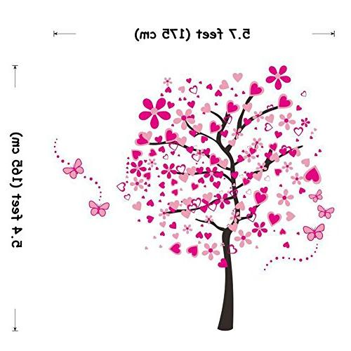 ElecMotive Decals Removable Decor Decorative Supplies & Wall Treatments Girls Kids Bedroom