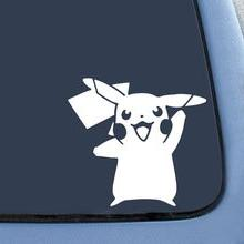 HVD-Pokemon Go Inspired Pikachu Card Game Vinyl Sticker Car