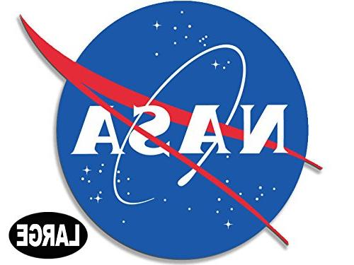 large nasa meatball logo shaped sticker insignia