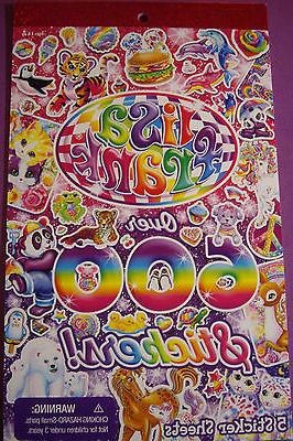 NEW LISA FRANK Peace Kiss Kittens Puppies Unicorn Sparkle 60