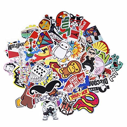 Sticker Decals Laptop,Kids,Cars,Motorcycle,Bicycle,Skateboard Luggage,Bumper Stickers Decals bomb Waterproof