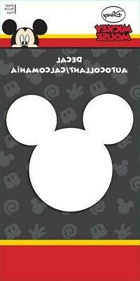 Disney Mickey Mouse Silhouette Window Car Decal Computer  St