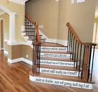 Movie Quotes Assorted Stair Wall Decor Vinyl Decal Wall Stai