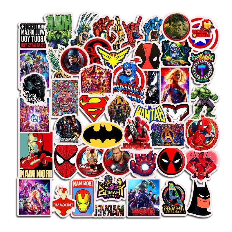 50Pcs Stickers for Laptop <font><b>Car</b></font> Fridge Suitcase Guitar Motorcycle <font><b>Decals</b></font> Toys