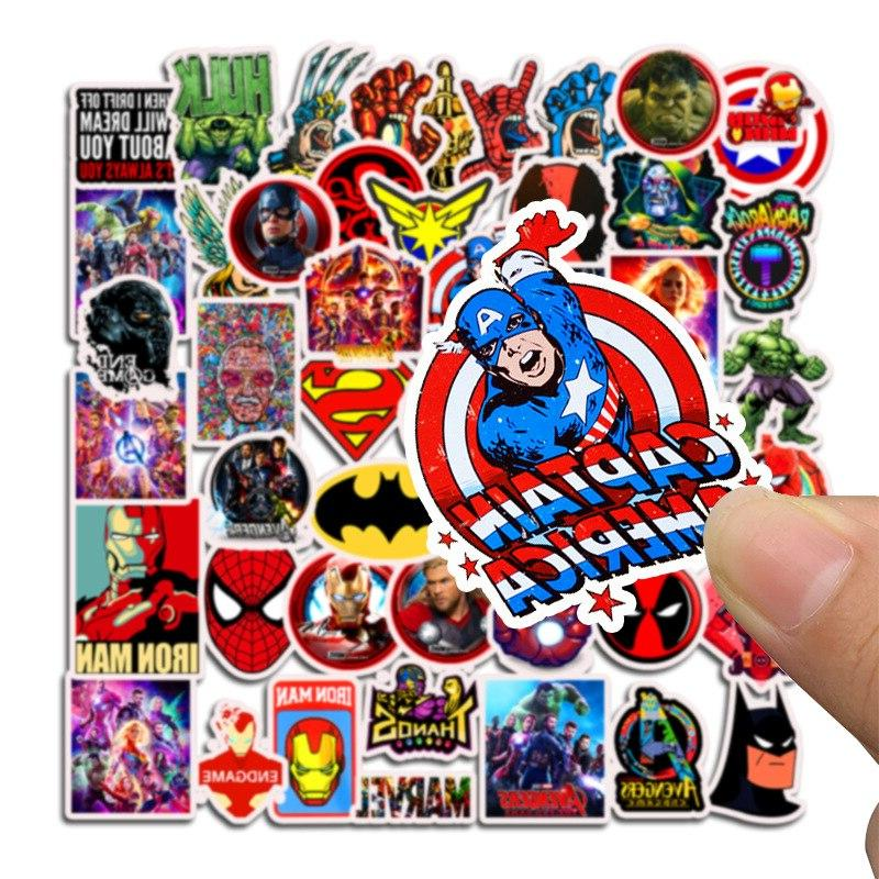 50Pcs Marvel for Laptop Suitcase <font><b>Decals</b></font> Toys