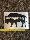 """Patagonia Black Buffalo Sticker Decal Approx 5"""" Outdoor"""