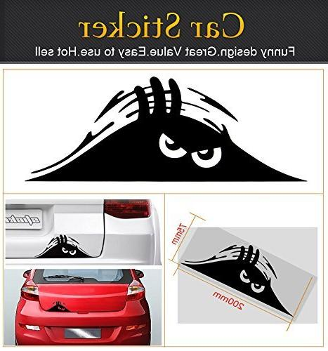 Jackey X Peeking Monster Car Decal/Sticker Ipad Truck Motorcycle