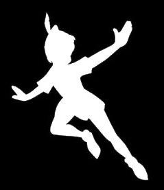 Peter Pan Flying Decal Vinyl Sticker|Cars Trucks Vans Walls