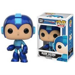 Funko POP! Games: Megaman Vinyl Figure - Mega Man