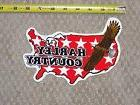 RARE HARLEY DAVIDSON Motorcycles EAGLE Red HARLEY COUNTRY Ou