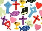 Religious Foam Sticker Assortment for Sunday School or Class