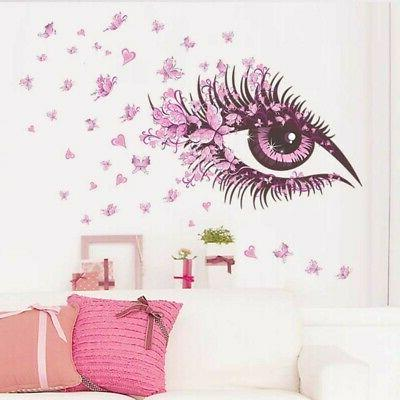 Removable Butterfly Tree Wall Stickers for Kids Room Home De