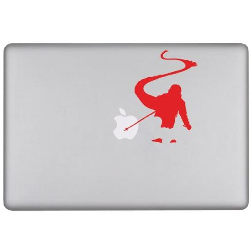 removable laptop decal back country