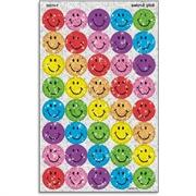 Silly Smiles Colored Super Sport Stickers