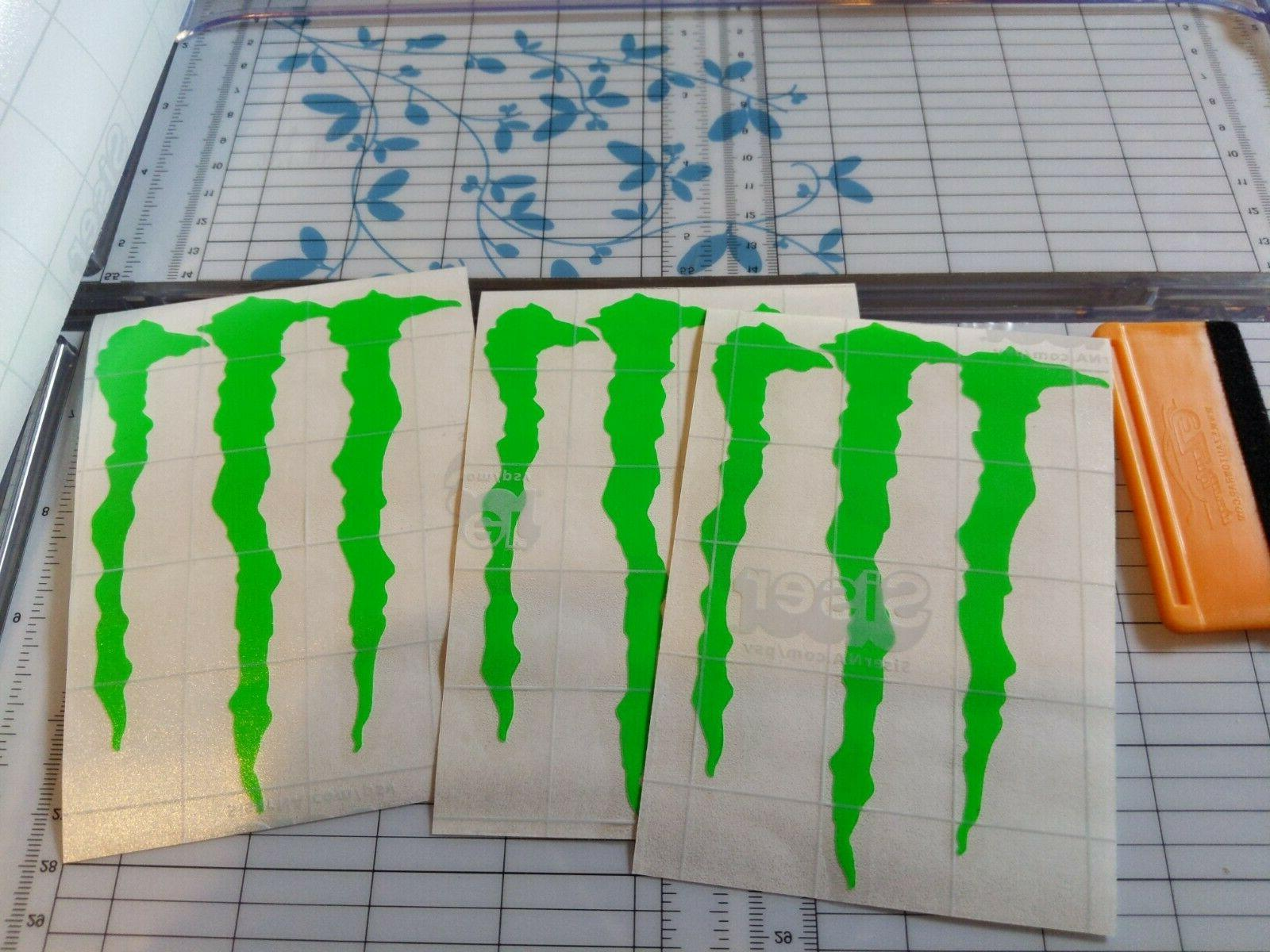 MONSTER many STICKERS BRAND NEW
