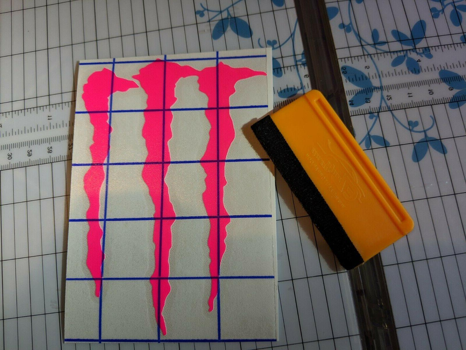 MONSTER many colors M-CLAW DECAL STICKERS BRAND NEW