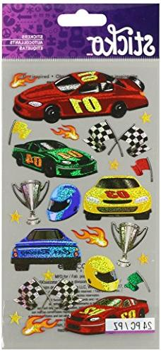 Sticko 58 Stickers-Race Cars