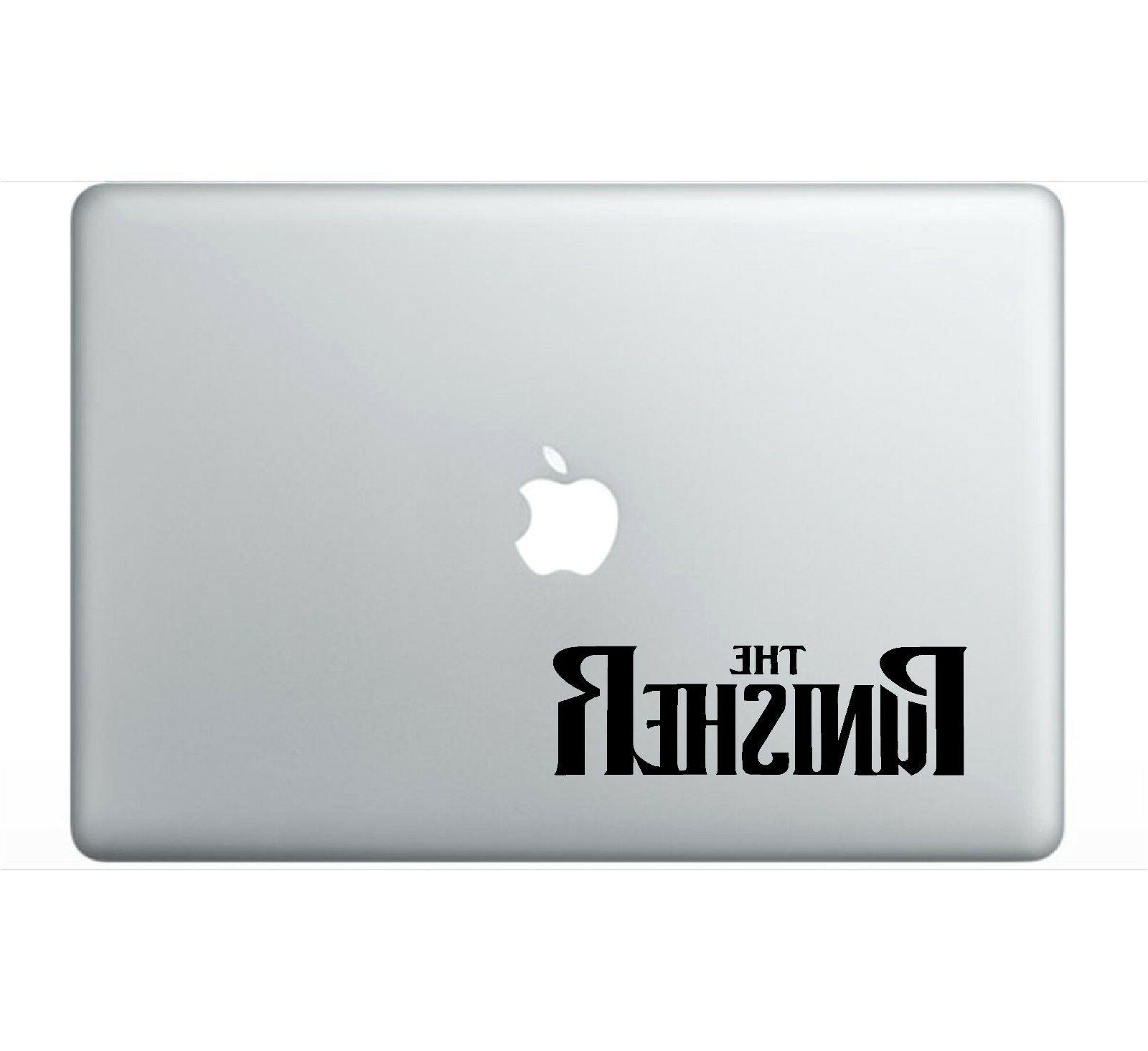 The Punisher Letters Laptop Vinyl Decal