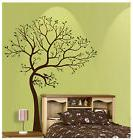 7FT LARGE TREE BROWN-GREEN WALL DECAL Art Sticker Mural  - L