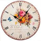 "Vintage Wall Clocks Decorative Silent Non Ticking 12"" for De"