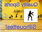 Volleyball Player Vinyl Decal, DETAILED Vinyl Silhouette, QU