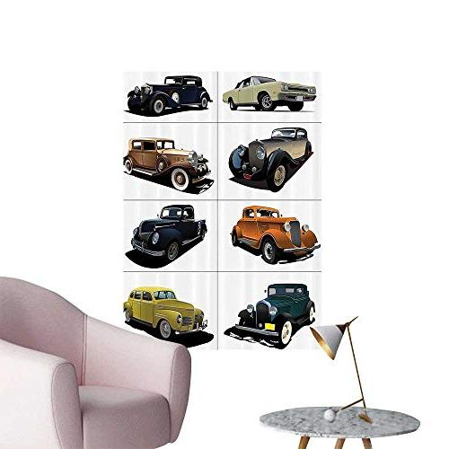 wall decals rare fifties vintage