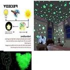 Wall Stickers For Baby Kids Room 300pcs Plastic 3D Stars Glo