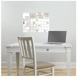 WallPops Kolkata Monthly Calendar with Notes Whiteboard Wall