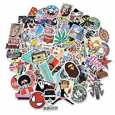 Breezypals 100 Vinyl Stickers Car,