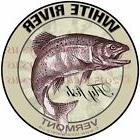White River Fly Fish VermontStickers Fishing Decals  Guara