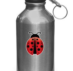 Ladybug - D1 - Vinyl Decal for Water Bottle | Thermos | Car