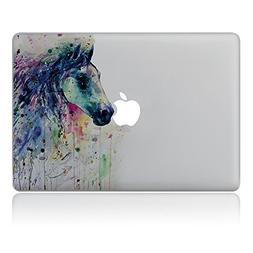 Vati Leaves Removable Painted horse Vinyl Decal Sticker Skin