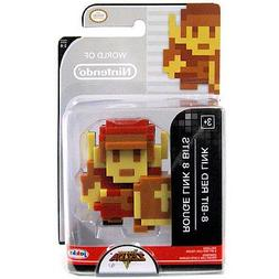 World of Nintendo The Legend of Zelda 8 Bit Red Link Figure